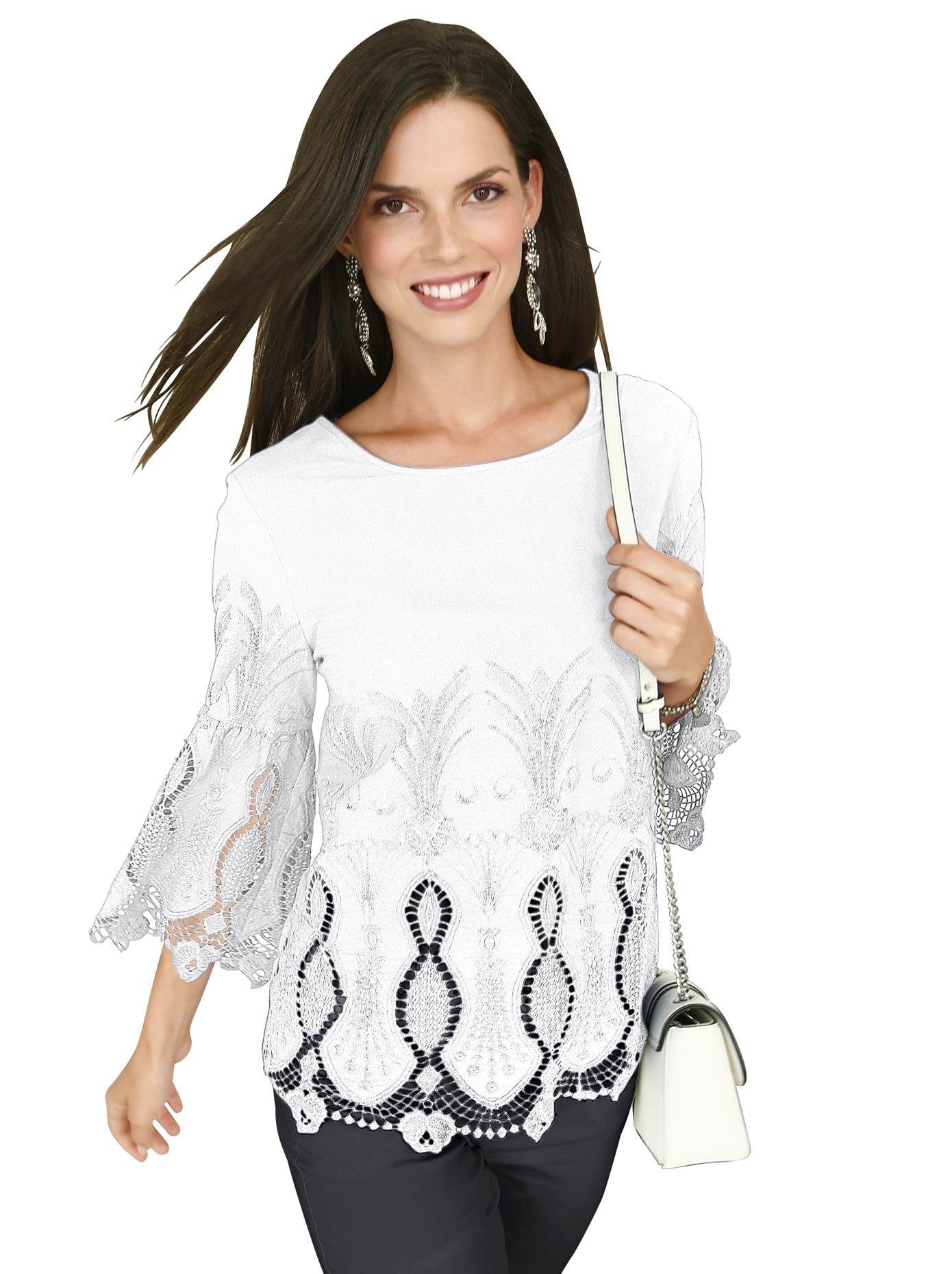 Alessa W. blouse zonder sluiting voordelig en veilig online kopen