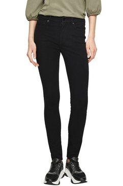 s.oliver skinny fit jeans zwart