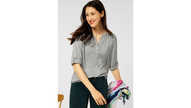STREET ONE blouse met lange mouwen met 3/4-mouwen