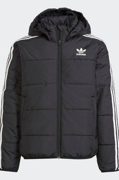 adidas originals outdoorjack padded adicolor primegreen originals junior regular unisex zwart