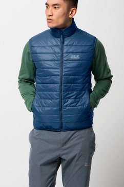 jack wolfskin bodywarmer jwp vest m blauw