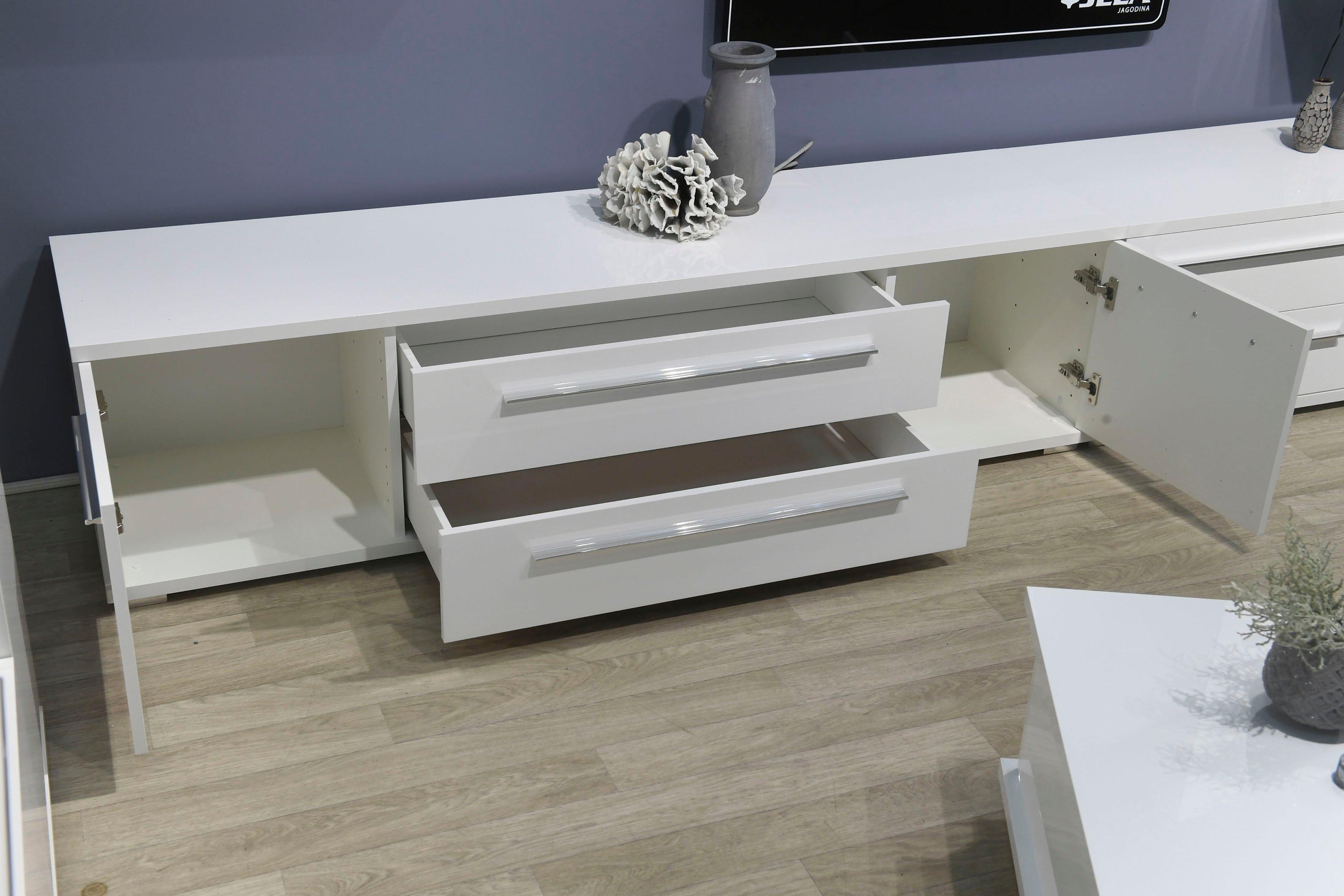 Places of Style tv-meubel Piano UV gelakt, met soft close-functie nu online kopen bij OTTO