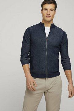tom tailor cardigan blauw