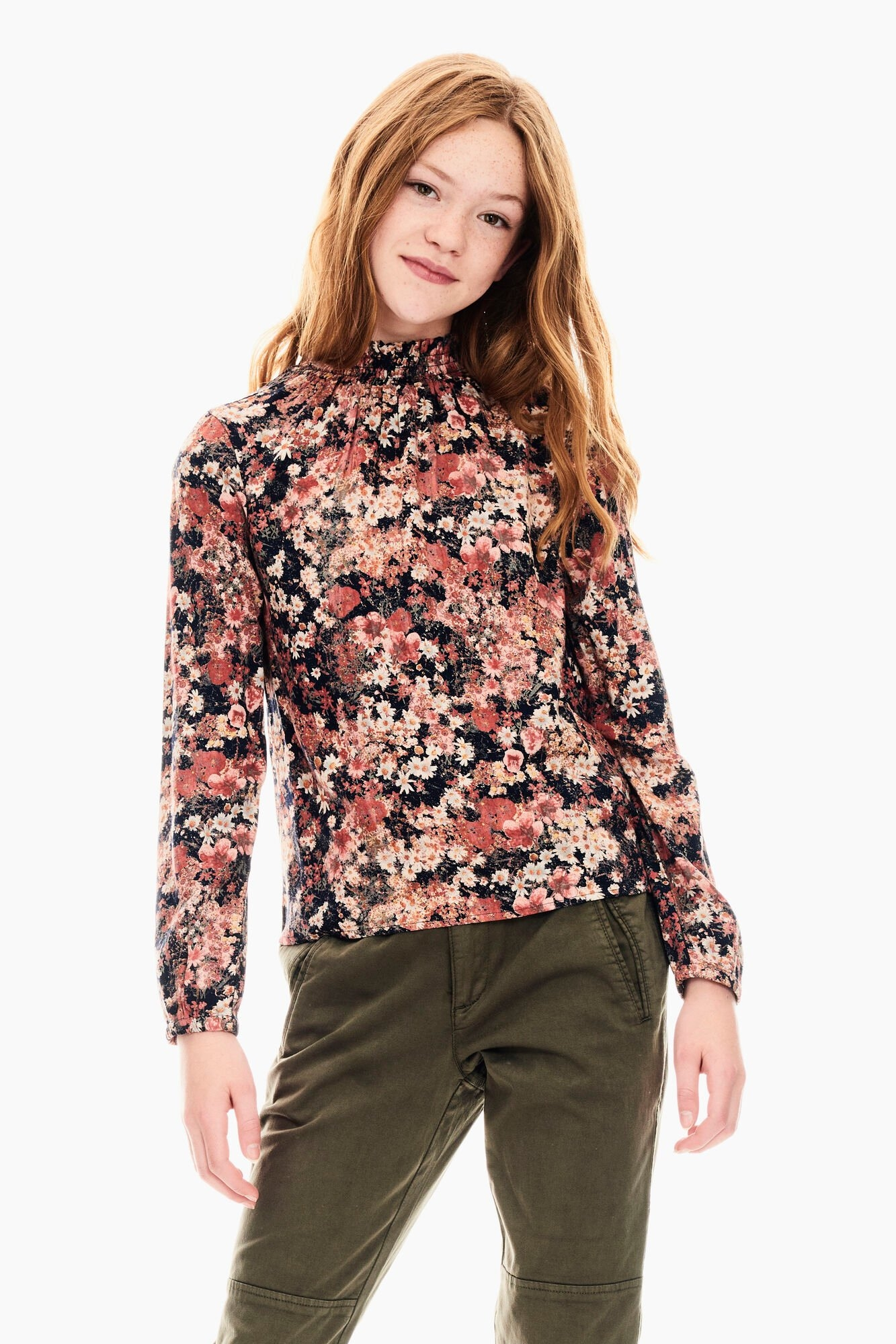 Garcia klassieke blouse met bloemenprint all-over bij OTTO online kopen