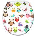 sanilo toiletzitting owl multicolor