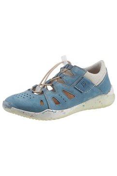 josef seibel sneakers ricky 17 met praktische snelsluiting blauw