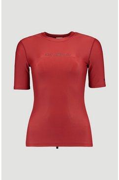 o'neill functioneel shirt »essential skins« rood