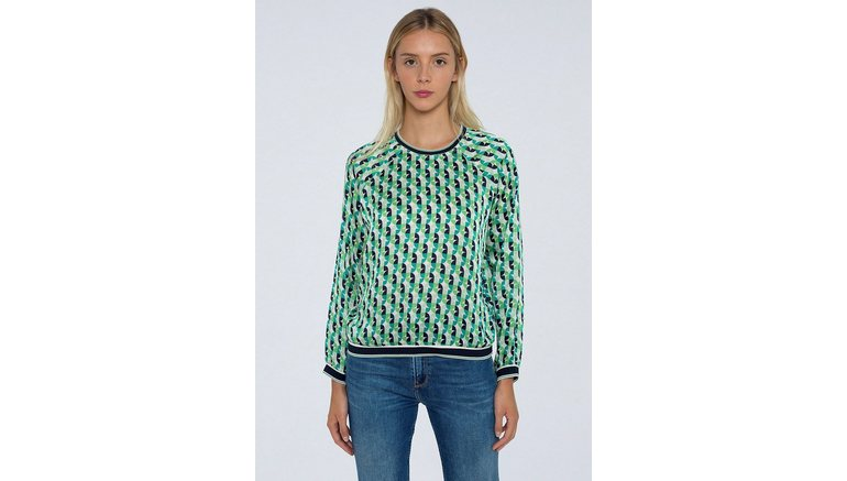 Pepe Jeans blouse zonder sluiting »ARY«