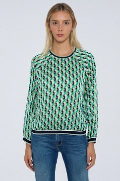 pepe jeans blouse zonder sluiting »ary« multicolor