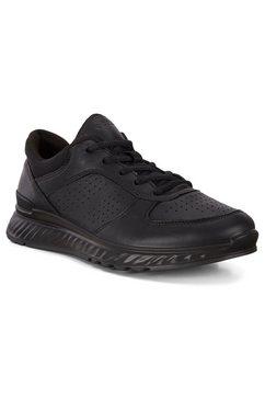 ecco sneakers exostride met een uitneembare binnenzool zwart