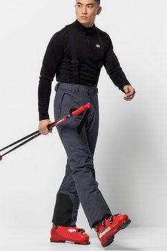 jack wolfskin skibroek great snow pants m grijs