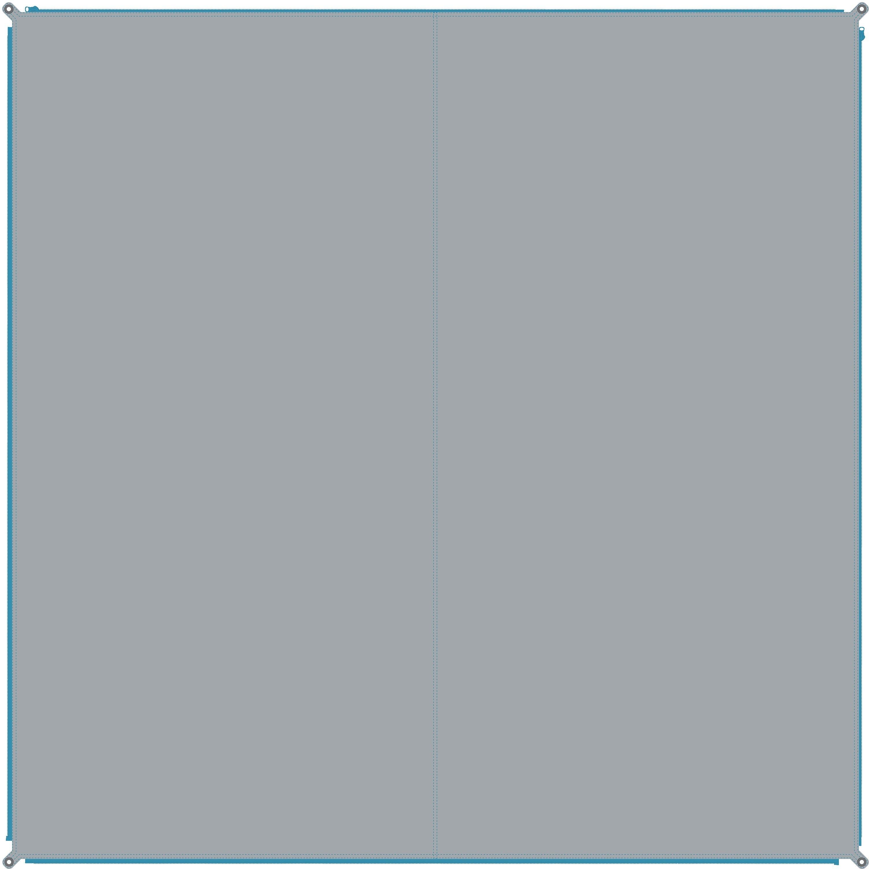BENT outdoorkleed Carpet Plain PFC-vrij (1 stuk) bestellen: 30 dagen bedenktijd