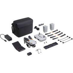 dji drone air 2s fly more combo drones, 1-inch cmos-sensor, 5,4k video, obstakelvermijding in 4 richtingen, 31-min vliegtijd, mastershots grijs