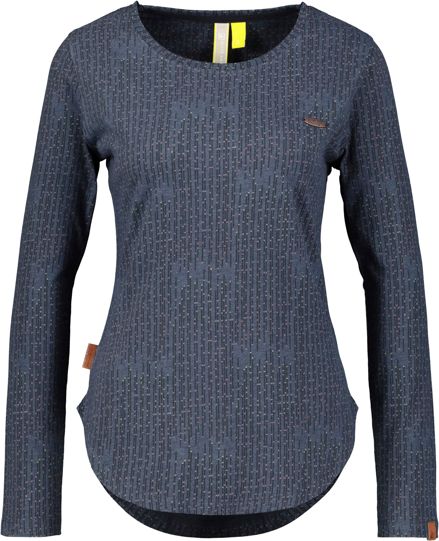 alife and kickin T-shirt LeaAK B modieuze longsleeve met ronde zoom & ronde hals voordelig en veilig online kopen