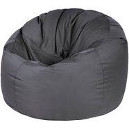 outbag zitzak donut plus weerbestendig, voor buiten (1 stuk) grijs