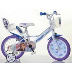 dino kinderfiets voor meisje, 16 inch, 1 versnelling, »frozen«