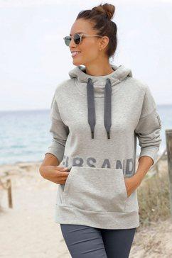 elbsand hoodie »lysa« grijs