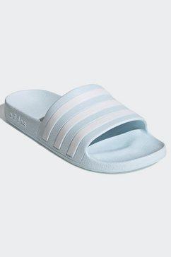 adidas performance badslippers »adilette aqua« blauw