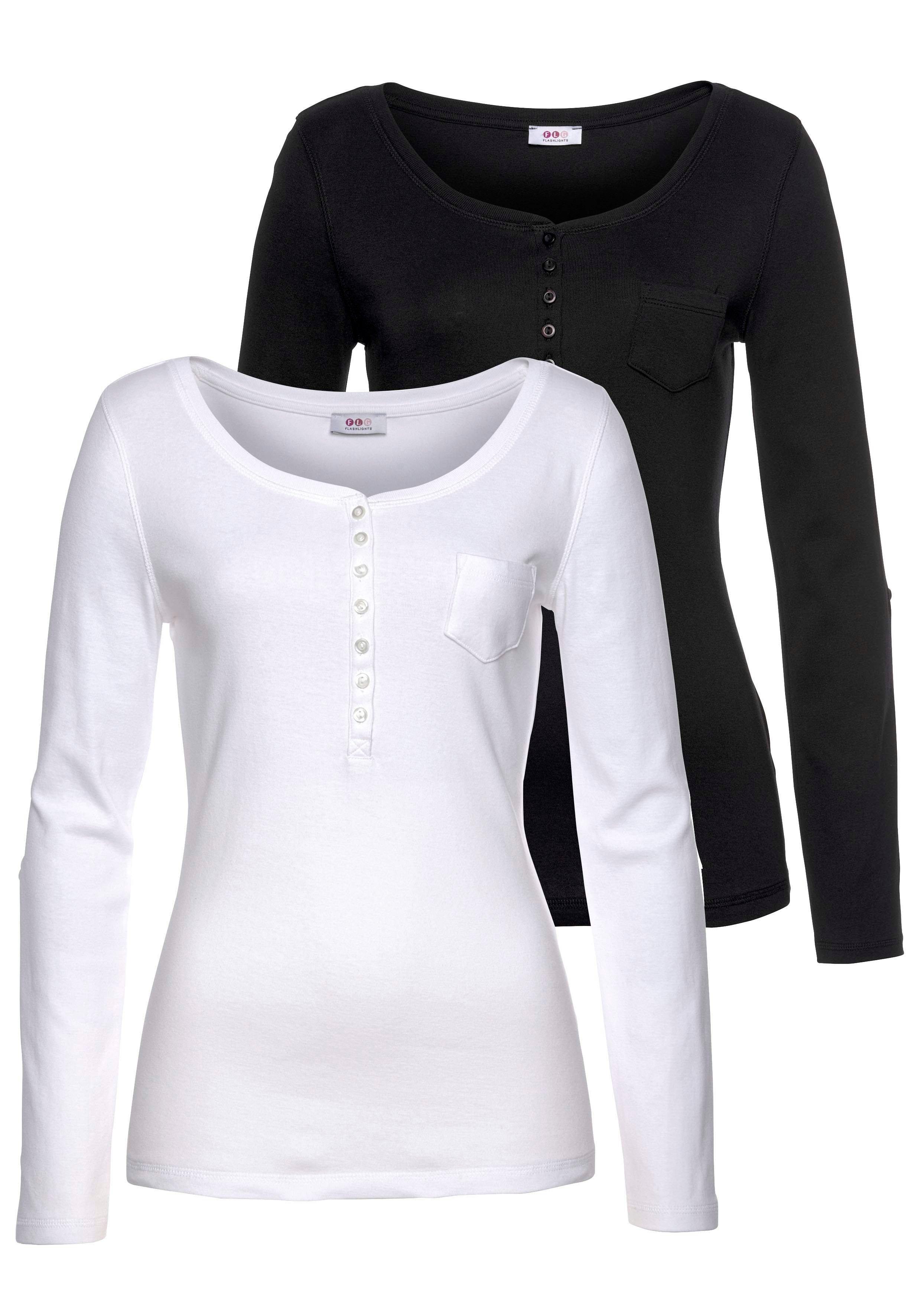 Flashlights shirt met lange mouwen (set van 2) nu online bestellen