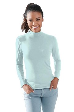 waeschepur shirt met lange mouwen blauw
