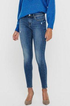 only skinny fit jeans »onlwauw« blauw