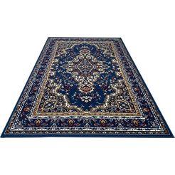 my home geweven vloerkleed ali blauw