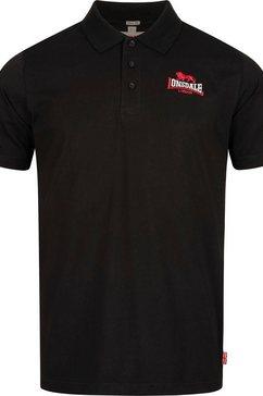 lonsdale poloshirt »rodmell« zwart