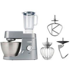kenwood keukenmachine chef kvc3110s, 1000 watt, mengkom 4,6 liter zilver