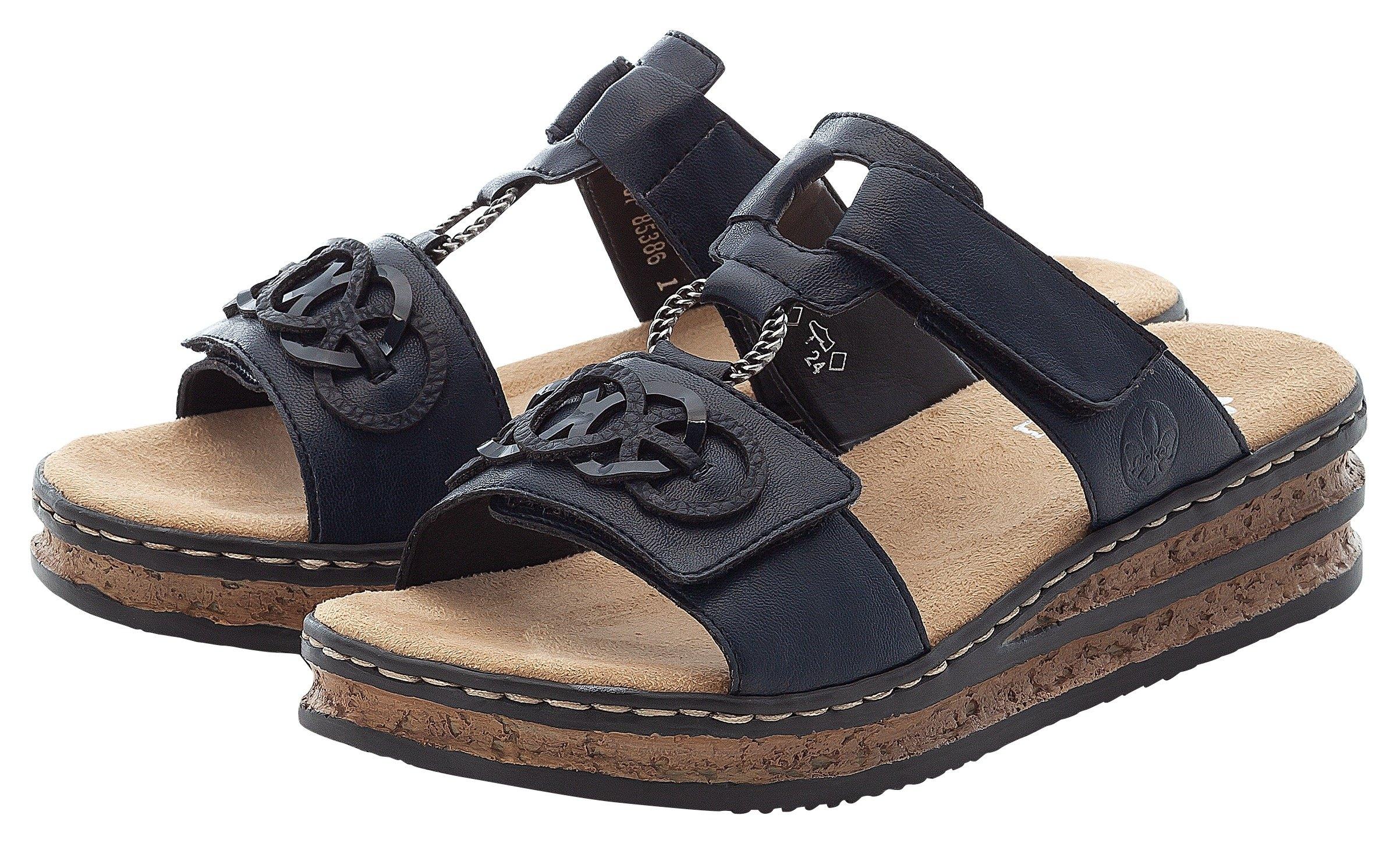 Rieker slippers met decoratieve elementen nu online bestellen