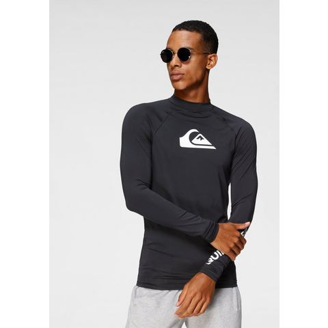 Quiksilver functioneel shirt BLACK ALL TIME