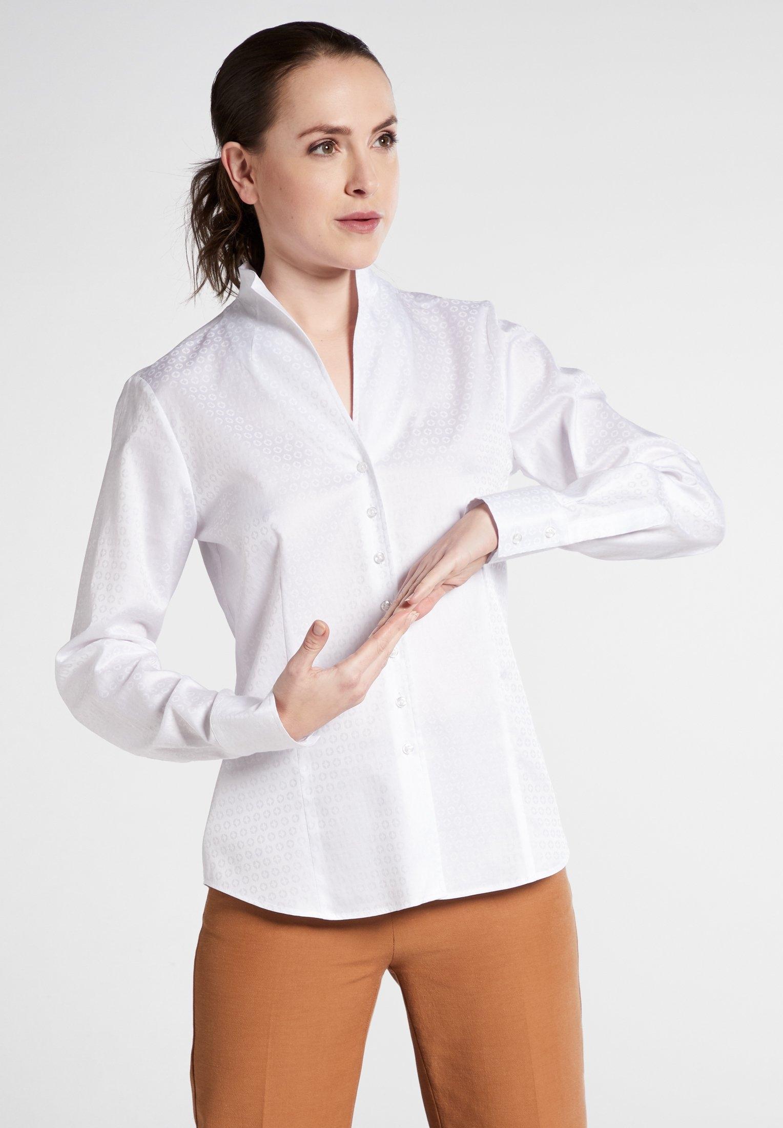 Op zoek naar een Eterna blouse met lange mouwen MODERN CLASSIC Jacquard? Koop online bij OTTO