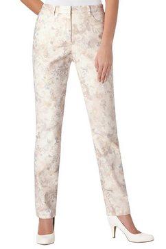 cosma broek in recht model beige