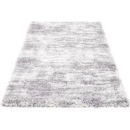 festival hoogpolig vloerkleed peral 520 bijzonder zacht door microvezel, woonkamer grijs