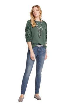 linea tesini by heine sweatshirt groen