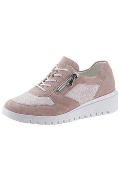 waldlaeufer sneakers met sleehak »h-florenz-soft« beige