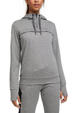 esprit sports hoodie grijs