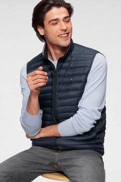 tommy hilfiger bodywarmer »core packable down vest« blauw