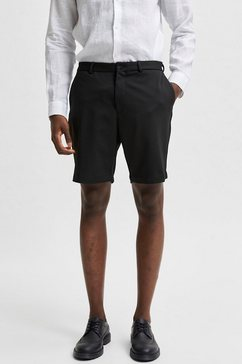 selected homme chino-short aiden shorts zwart