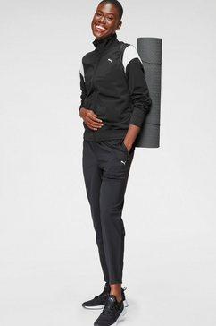 puma trainingspak »classic tricot suit« zwart