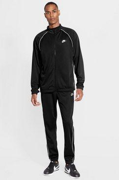 nike sportswear trainingspak nike sportswear men's tracksuit (set, 2-delig) zwart