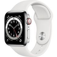 apple smartwatch watch series 6 inclusief oplaadstation (magnetische oplaadkabel) wit