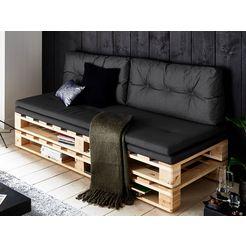 atlantic home collection loungebank grijs