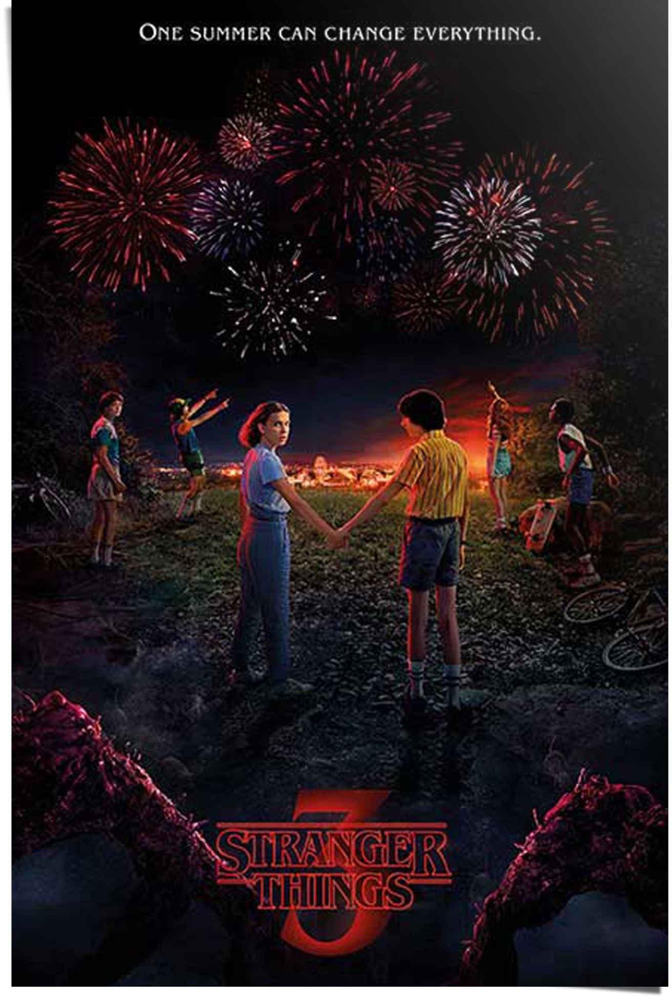 Reinders! poster Stranger Things 3 One summer (1 stuk) bestellen: 30 dagen bedenktijd