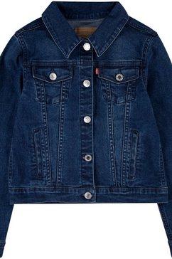 levi's kidswear jeansjack stretch trucker jacket blauw