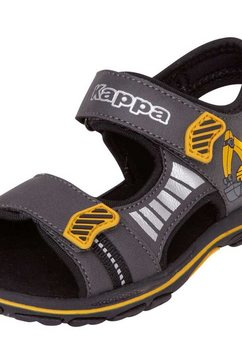kappa sandalen »road sun kids« grijs