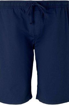 tom tailor men plus jerseybroek met koordjes blauw