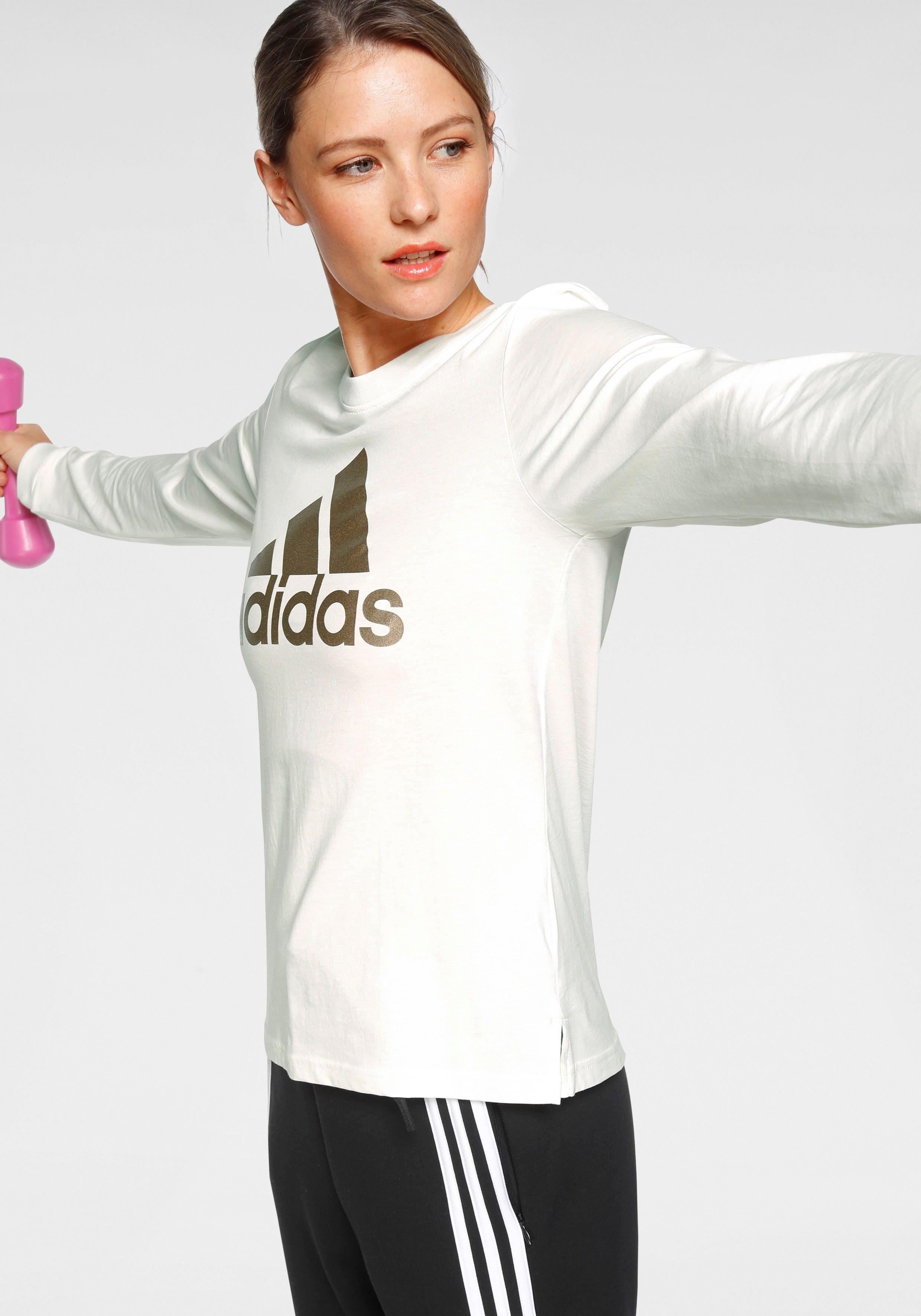 adidas Performance shirt met lange mouwen »W U-B-U LONGSLEEVE TEE« in de webshop van OTTO kopen