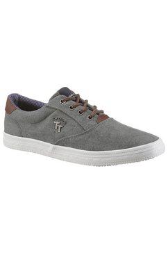tom tailor sneakers met tt-logo grijs