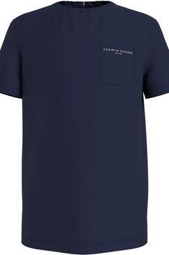 tommy hilfiger t-shirt blauw