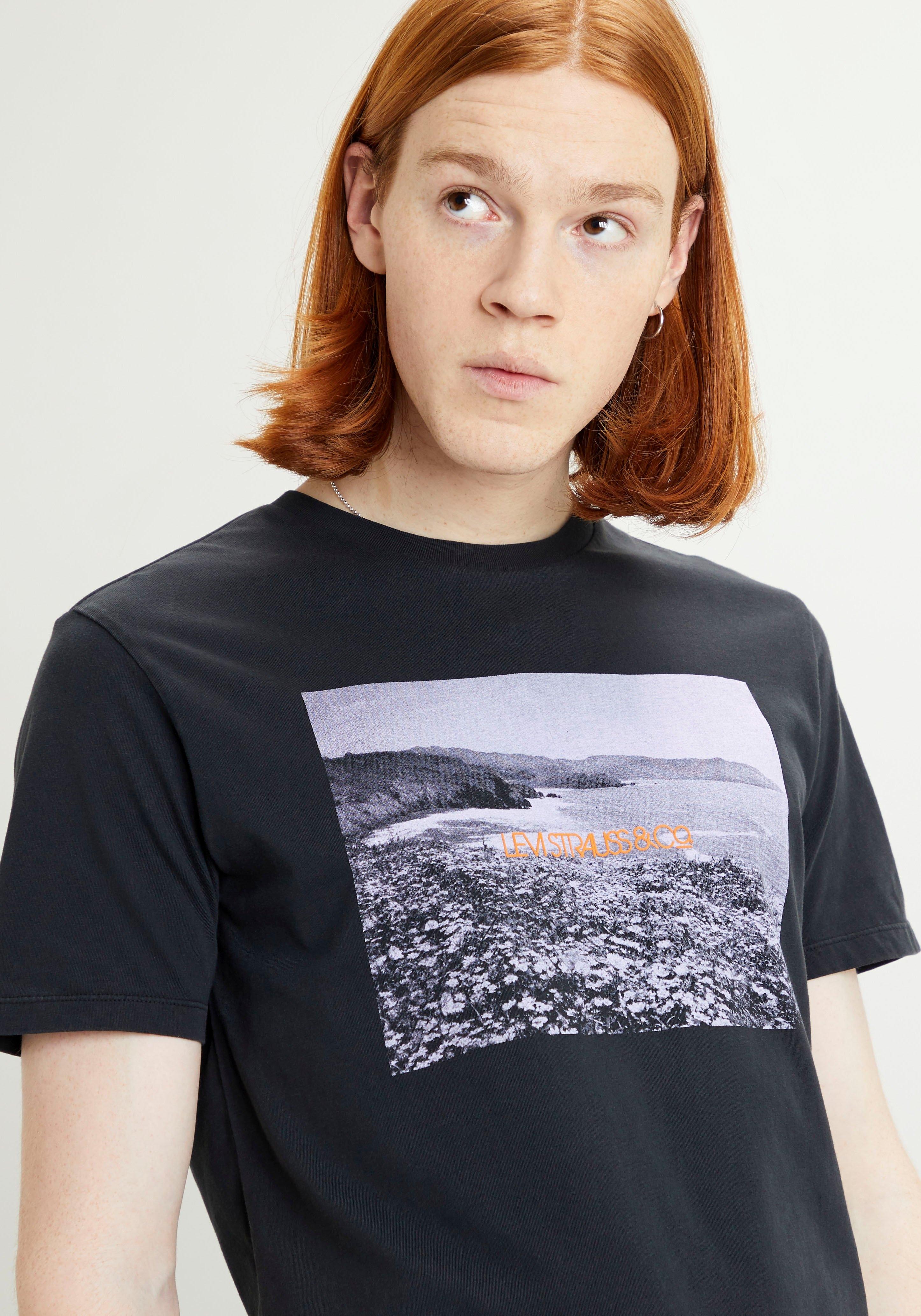 Levi's T-shirt GRAPHIC CREWNECK met fotoprint online kopen op otto.nl